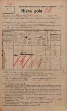 Popis prebivalstva 20. 12. 1921<br />Ljubljana<br />Kapiteljska ulica 11<br />Population census 20 December 1921