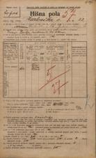 Popis prebivalstva 20. 12. 1921<br />Ljubljana<br />Karlovška cesta 32<br />Population census 20 December 1921