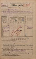 Popis prebivalstva 20. 12. 1921<br />Ljubljana<br />Karunova ulica 7<br />Population census 20 December 1921