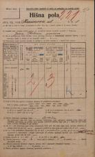 Popis prebivalstva 20. 12. 1921<br />Ljubljana<br />Karunova ulica 8<br />Population census 20 December 1921