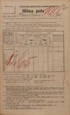 Popis prebivalstva 20. 12. 1921<br />Ljubljana<br />Kavškova cesta 108<br />Population census 20 December 1921