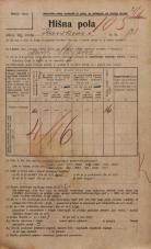 Popis prebivalstva 20. 12. 1921<br />Ljubljana<br />Kavškova cesta 131<br />Population census 20 December 1921
