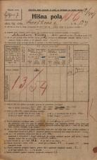 Popis prebivalstva 20. 12. 1921<br />Ljubljana<br />Kavškova cesta 139<br />Population census 20 December 1921