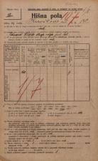 Popis prebivalstva 20. 12. 1921<br />Ljubljana<br />Kavškova cesta 142<br />Population census 20 December 1921