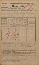 Popis prebivalstva 20. 12. 1921<br />Ljubljana<br />Kavškova cesta 193<br />Population census 20 December 1921