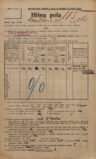 Popis prebivalstva 20. 12. 1921<br />Ljubljana<br />Kavškova cesta 260<br />Population census 20 December 1921
