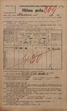 Popis prebivalstva 20. 12. 1921<br />Ljubljana<br />Kladezna ulica 18<br />Population census 20 December 1921