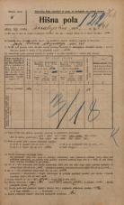 Popis prebivalstva 20. 12. 1921<br />Ljubljana<br />Kmetijska ulica 141<br />Population census 20 December 1921