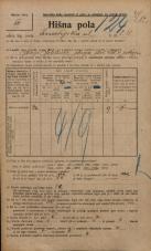 Popis prebivalstva 20. 12. 1921<br />Ljubljana<br />Kmetijska ulica 211<br />Population census 20 December 1921