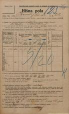 Popis prebivalstva 20. 12. 1921<br />Ljubljana<br />Kmetijska ulica 212<br />Population census 20 December 1921