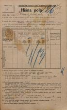 Popis prebivalstva 20. 12. 1921<br />Ljubljana<br />Kmetijska ulica 215<br />Population census 20 December 1921
