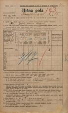Popis prebivalstva 20. 12. 1921<br />Ljubljana<br />Knafljeva ulica 15<br />Population census 20 December 1921