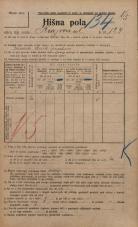 Popis prebivalstva 20. 12. 1921<br />Ljubljana<br />Knezova ulica 124<br />Population census 20 December 1921