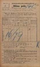 Popis prebivalstva 20. 12. 1921<br />Ljubljana<br />Knezova ulica 235<br />Population census 20 December 1921