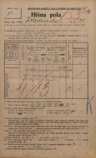 Popis prebivalstva 20. 12. 1921<br />Ljubljana<br />Kolodvorska cesta 143<br />Population census 20 December 1921