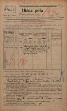 Popis prebivalstva 20. 12. 1921<br />Ljubljana<br />Kolodvorska cesta 56<br />Population census 20 December 1921