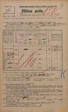 Popis prebivalstva 20. 12. 1921<br />Ljubljana<br />Kolodvorska cesta 92<br />Population census 20 December 1921