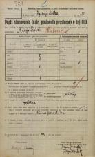 Popis prebivalstva 20. 12. 1921<br />Ljubljana<br />Kolodvorska cesta - Spodnja Šiška 150<br />Population census 20 December 1921