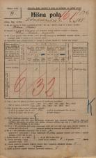 Popis prebivalstva 20. 12. 1921<br />Ljubljana<br />Kolodvorska cesta 185<br />Population census 20 December 1921