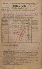 Popis prebivalstva 20. 12. 1921<br />Ljubljana<br />Kolodvorska ulica 25<br />Population census 20 December 1921