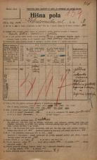 Popis prebivalstva 20. 12. 1921<br />Ljubljana<br />Kolodvorska ulica 3<br />Population census 20 December 1921