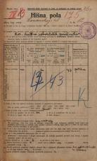 Popis prebivalstva 20. 12. 1921<br />Ljubljana<br />Komenskega ulica 12<br />Population census 20 December 1921
