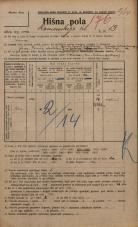 Popis prebivalstva 20. 12. 1921<br />Ljubljana<br />Komenskega ulica 13<br />Population census 20 December 1921