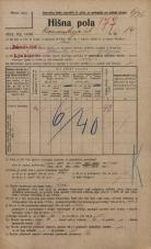 Popis prebivalstva 20. 12. 1921<br />Ljubljana<br />Komenskega ulica 14<br />Population census 20 December 1921