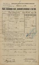 Popis prebivalstva 20. 12. 1921<br />Ljubljana<br />Komenskega ulica - Čopova cesta 10<br />Population census 20 December 1921