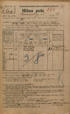 Popis prebivalstva 20. 12. 1921<br />Ljubljana<br />Komenskega ulica 21<br />Population census 20 December 1921