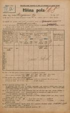 Popis prebivalstva 20. 12. 1921<br />Ljubljana<br />Kongresni trg 19<br />Population census 20 December 1921