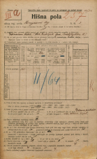 Popis prebivalstva 20. 12. 1921<br />Ljubljana<br />Kongresni trg 3<br />Population census 20 December 1921