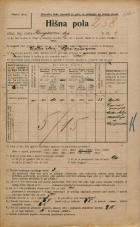 Popis prebivalstva 20. 12. 1921<br />Ljubljana<br />Kongresni trg 4<br />Population census 20 December 1921