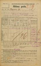 Popis prebivalstva 20. 12. 1921<br />Ljubljana<br />Kongresni trg 5<br />Population census 20 December 1921
