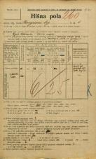 Popis prebivalstva 20. 12. 1921<br />Ljubljana<br />Kongresni trg 6<br />Population census 20 December 1921