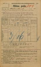 Popis prebivalstva 20. 12. 1921<br />Ljubljana<br />Krakovska ulica 11<br />Population census 20 December 1921