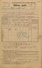 Popis prebivalstva 20. 12. 1921<br />Ljubljana<br />Križevniška ulica 10<br />Population census 20 December 1921