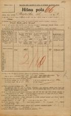 Popis prebivalstva 20. 12. 1921<br />Ljubljana<br />Krojaška ulica 4<br />Population census 20 December 1921