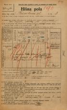 Popis prebivalstva 20. 12. 1921<br />Ljubljana<br />Krsnikova ulica 3<br />Population census 20 December 1921