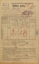 Popis prebivalstva 20. 12. 1921<br />Ljubljana<br />Lepi pot 14<br />Population census 20 December 1921