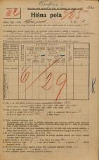 Popis prebivalstva 20. 12. 1921<br />Ljubljana<br />Lepi pot 3<br />Population census 20 December 1921