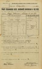 Popis prebivalstva 20. 12. 1921<br />Ljubljana<br />Lepodvorska ulica - Železniška 157<br />Population census 20 December 1921