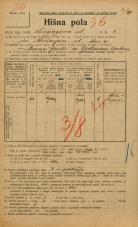 Popis prebivalstva 20. 12. 1921<br />Ljubljana<br />Lingarjeva ulica 2<br />Population census 20 December 1921
