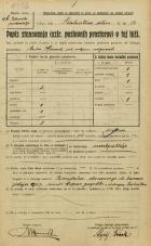 Popis prebivalstva 20. 12. 1921<br />Ljubljana<br />Linhartova ulica 14<br />Population census 20 December 1921