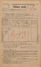 Popis prebivalstva 20. 12. 1921<br />Ljubljana<br />Marmontova ulica 15<br />Population census 20 December 1921