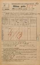 Popis prebivalstva 20. 12. 1921<br />Ljubljana<br />Marmontova ulica 18<br />Population census 20 December 1921