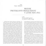 Mozaik preteklosti okraja Kranj v letih 1929-1935, 1. del<br />Kratek pregled upravne in cerkvene ureditve okraja