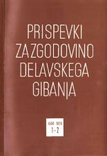 Prispevki za zgodovino delavskega gibanja, 1968, št. 1-2