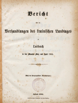 3. sesija  (2. 3. 1864 – 15. 4. 1864)<br />2. knjiga (2. 3. 1864 – 15. 4. 1864)<br />3. Session  (2. 3. 1864 – 15. 4. 1864)<br />Book 2 (2. 3. 1864 – 15. 4. 1864)