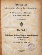 3. sesija  (22. 8. 1868 – 3. 10. 1868)<br />5. knjiga (22. 8. 1868 – 3. 10. 1868)<br />3. Session  (22. 8. 1868 – 3. 10. 1868)<br />Book 5 (22. 8. 1868 – 3. 10. 1868)